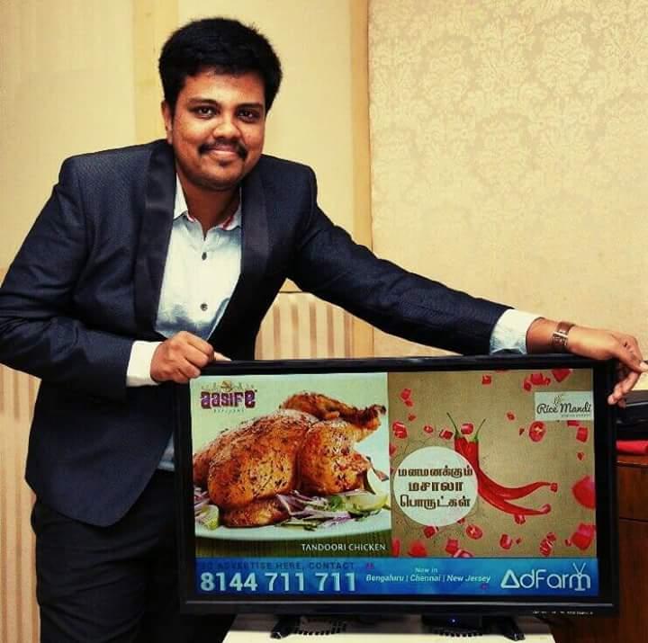 Mr. Sudarsan – Director – Adfarms Private Ltd