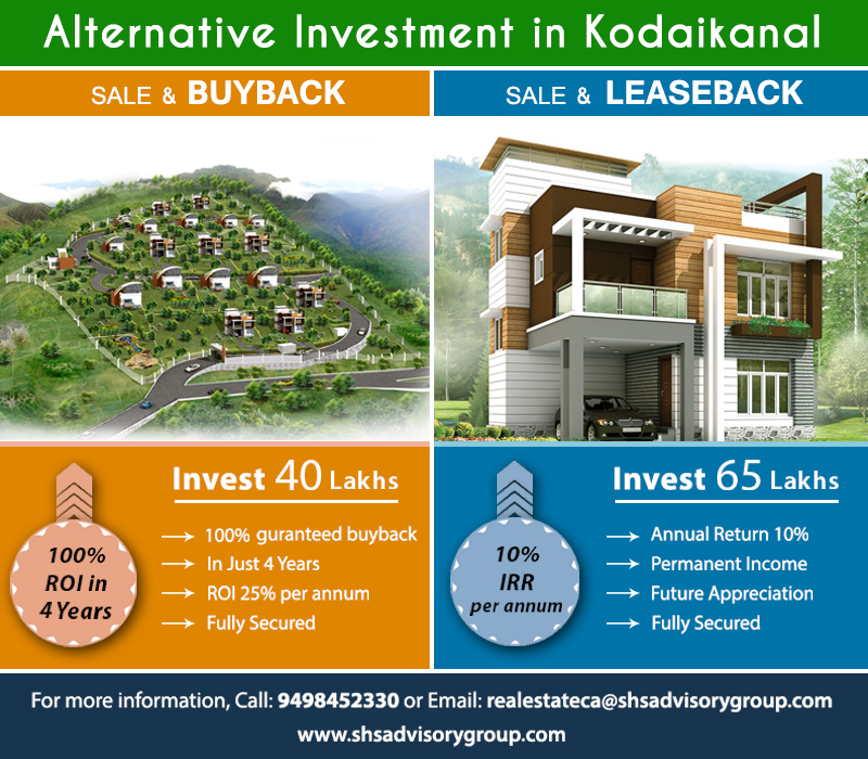 "Eco Friendly tourism – Kodaikanal – ""Palani View"""