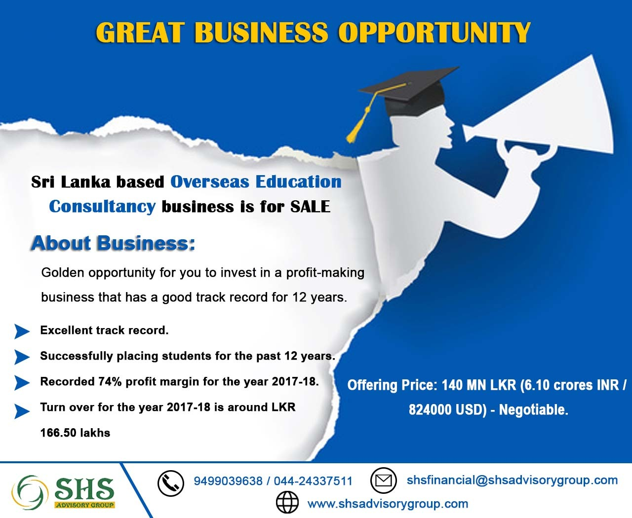 Overseas Education Srilanka 1 4 Mn Usd 5