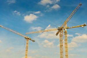 cranes, construction, build